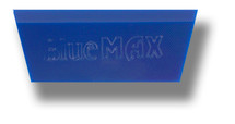 "5"" Blue Max Squeegee Blade - Angled w/Beveled Edge Tip"