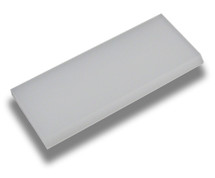 "5"" Super Clear Max Squeegee - Square & Beveled Edge Tip Blade Only"