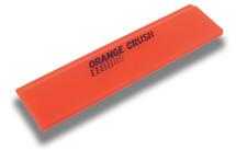"8"" Orange Crush Beveled Squeegee Blade - Soft"