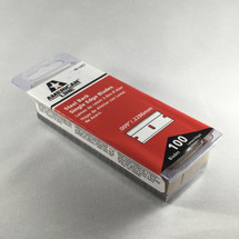 "1"" Razor Blades - American Line Carbon Steel - 100 Pk"
