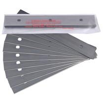"6"" Scraper Blades - Triumph Carbon Steel Heavy Duty - 10 Pk"