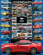 "Ford Mustang ""Legendary"" 50th Anniversary Poster"