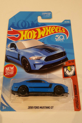 2018 Ford Mustang GT Hot Wheels Muscle Mania 9/10