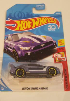 Hotwheels Custom 2015 Ford Mustang (Purple)