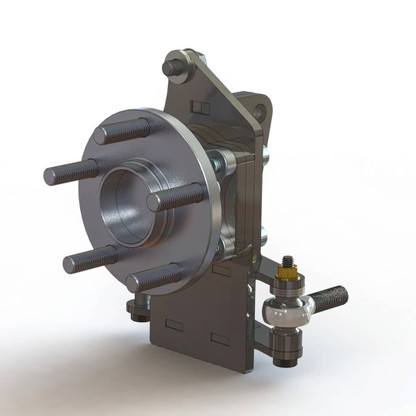 DriftSpec Spindle for 79-93 Mustang. The ultimate upgrade in Mustang steering angle.