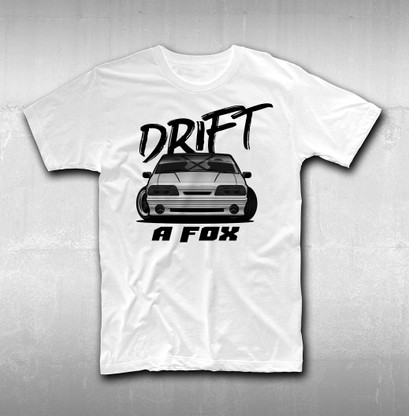 Drift a Fox T-Shirt from DriftAmerican
