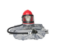 Sandblast Hood Assembly for use with Supplied Air System
