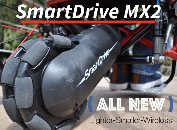 SmartDrive MX2 for Wheelchairs