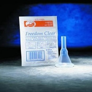 Freedom Clear Male External Catheter with Kink-Resistant
