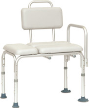 Padded Vinyl Transfer Bench shower chair Probasics  BSTBP