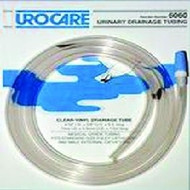 "Clear Vinyl Drainage Tubing with Graduated Adapter and Cap 60"" L x 9/32"" ID, Sterile"