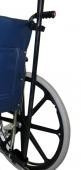 CRUTCH OR CANE HOLDER For Wheelchairs Fits Most Chairs with Upper Strap