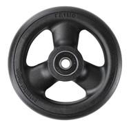 HOLLOW SPOKE Caster Wheel Urethane Round Tire