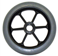 SPOKE Caster Wheel Molded On Tire