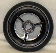 SPOKE MAG Caster Wheel Urethane Round Tire