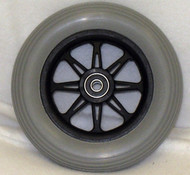 JAZZY 6 SPOKE Caster Wheel Molded On Tire