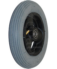"3 SPOKE 6 X 1 3/4"" WHEEL 6 x 1 3/4"" QUICKIE 3 SPOKE With Pneumatic Tire/Tube"