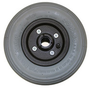 "8"" x 2"" INVACARE TWO PIECE CASTER 7/16"" Bearings 2 1/2"" Hub Width Pneumatic Tire / Tube"