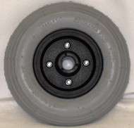 "8"" x 2"" INVACARE TWO PIECE CASTER 7/16"" Bearings 2 1/2"" Hub Width Foam Filled Tire"