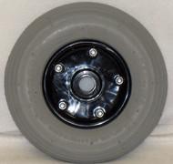 "8 x 2"" MERIT TWO PIECE CASTER 5/16"" x.906 Bearing 2"" Hub Width Pneumatic Tube / Tire"