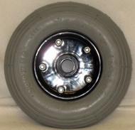"""8 x 2"""" MERIT TWO PIECE CASTER 5/16"""" x .906 Bearing 2"""" Hub Width Foam Filled Tire"""
