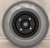 "8"" x 2.25"" STANDARD TWO PIECE CASTER 5/16"" Bearings Urethane Tire"