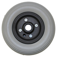 "7"" x 2"" QUICKIE TYPE 2 Piece Wheel Urethane Rib Tire"
