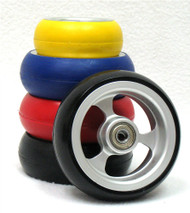 SOFT ROLL ALUMINUM 3 SPOKE WHEEL with HUB
