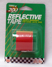 "REFLECTIVE TAPE 1.5"" X 30' - RED"