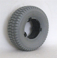 "9 X 3.50-4 (8 1/2 x 3 1/4"") KNOBBY TIRE Fits Most"