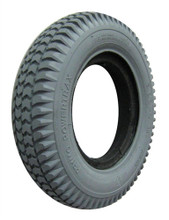 "3.00-8 (14 x 3"") KNOBBY TIRE W SOLID KEYWAY"