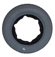 3.00-8 (14 x 3) KNOBBY TIRE WITH STAR KEYWAY