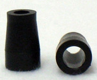 "Black Plastic Handrim 3/4"" Spacer"