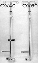 Two Hook IV Pole Wheelchair Mount