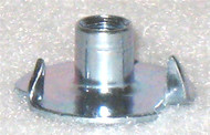 "3 POINT TEE NUTS 10-32, 1/4"" BARREL 10 PACK"