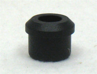 "Black Rubber BUMPER PLUG Fits E&J 7/8"" Foot Rests"