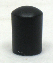 "Black TUBE END CAP Fits 7/8"" Tubing"