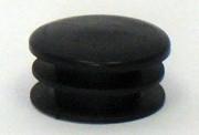 "TUBE END CAP Fits 1 1/8"" Tubing Black"