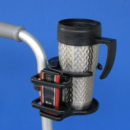 SnapIt! Wheelchair Combo Cell Phone/Adjustable Drink Holder