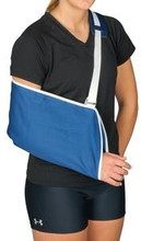 Universal Arm Sling, Blue - Leader