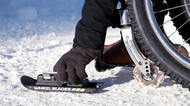 Wheel Blades  - Wheelchair skis for snow and sand.