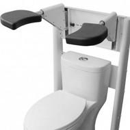 Pants Up Easy Toilet Model - Freestanding