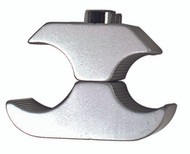 "1"" Gray Tube Style Clamp (Aluminum Wheel Lock Clamp)"