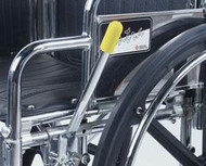 Wheelchair Brake Lever Extension by Alimed