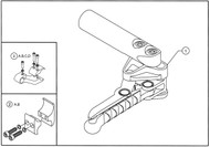 COMPACT SCISSOR LOCK for TiLite Wheelchair