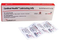 Cardinal Health™ Lubricating Jelly, 3g Foil Packet (Box 144 each)