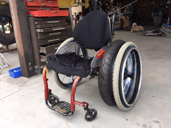 finest selection 0707e 1925d Sumo Beach and snow - Offroad wheelchair tires - 24