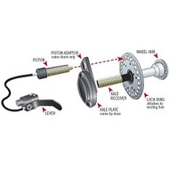 D's Locks Wheelchair Braking System (dual wheel Lock)