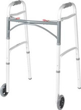 Lightweight Folding Walker, Collapsible - by Drive Medical