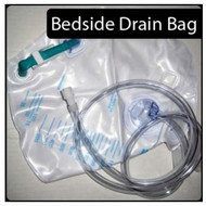 GeeWhiz - Bedside Drain Bag With GeeWhiz QuickSnap